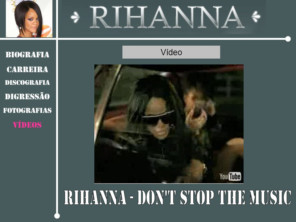 Rihanna - Don t stop the music