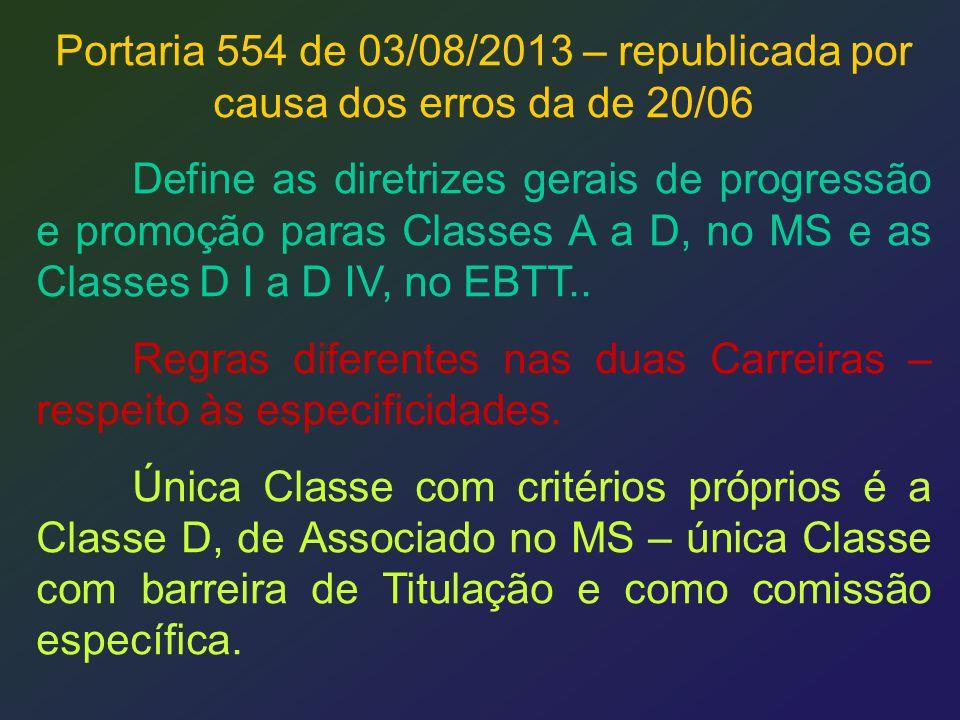 Portaria 554 de 03/08/2013 – republicada por causa dos erros da de 20/06