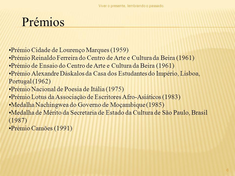 Prémios Prémio Cidade de Lourenço Marques (1959)