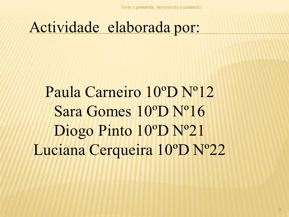 Luciana Cerqueira 10ºD Nº22