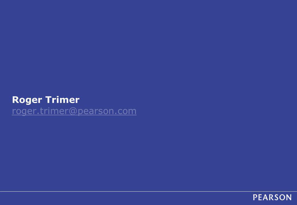 Roger Trimer roger.trimer@pearson.com