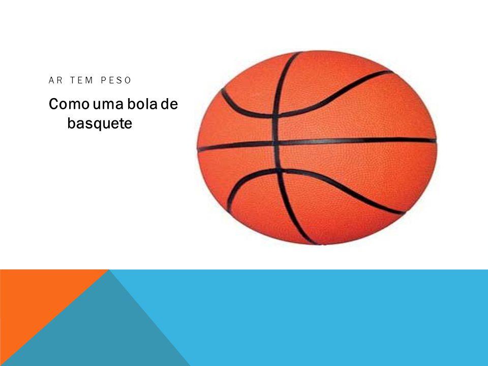 Como uma bola de basquete