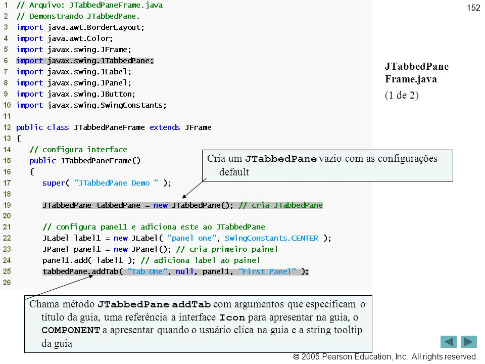 Outline JTabbedPane Frame.java (1 de 2)