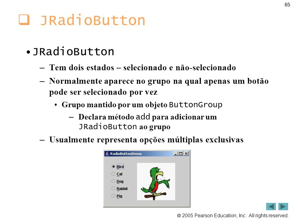 JRadioButton JRadioButton