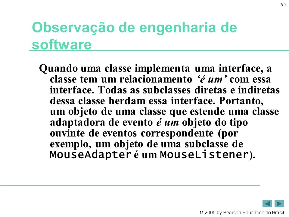 Observação de engenharia de software
