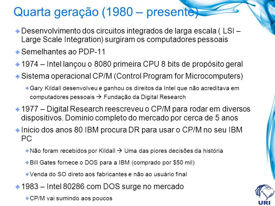 Quarta geração (1980 – presente)