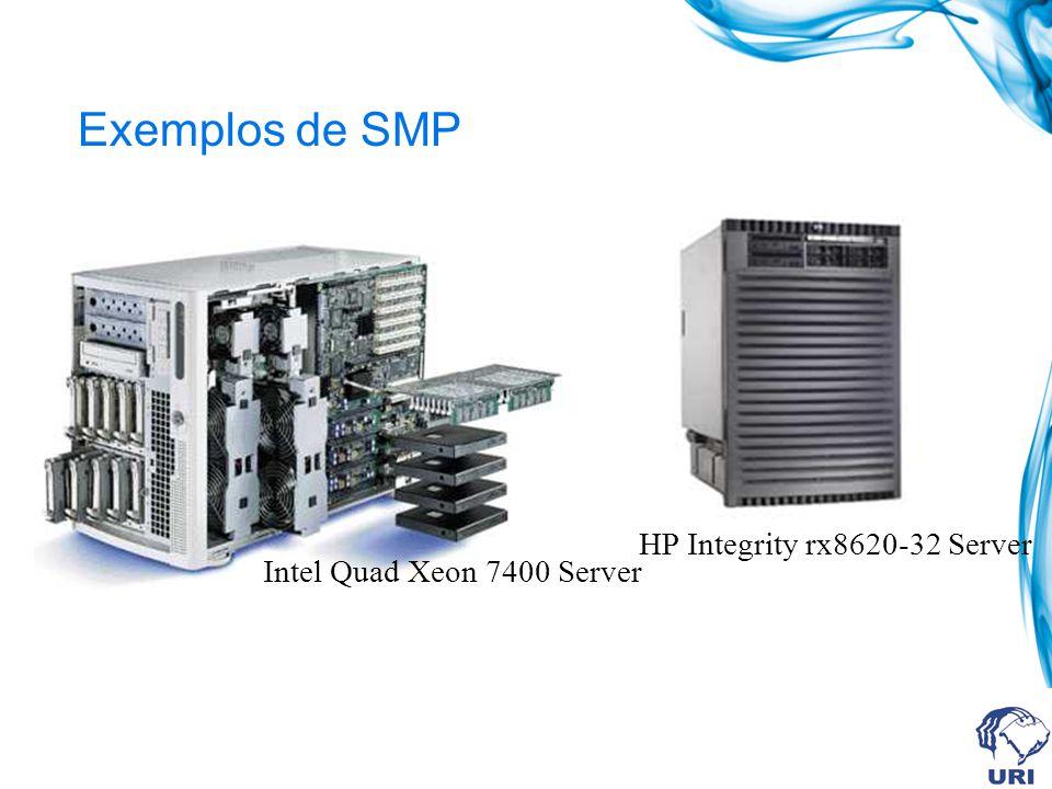 Exemplos de SMP HP Integrity rx8620-32 Server