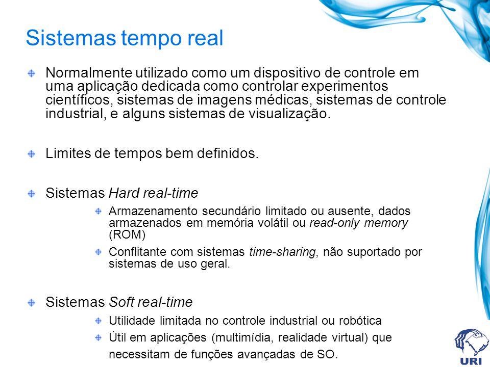 Sistemas tempo real