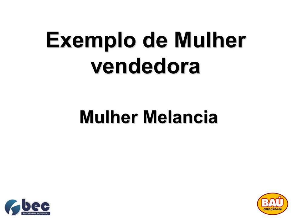 Exemplo de Mulher vendedora