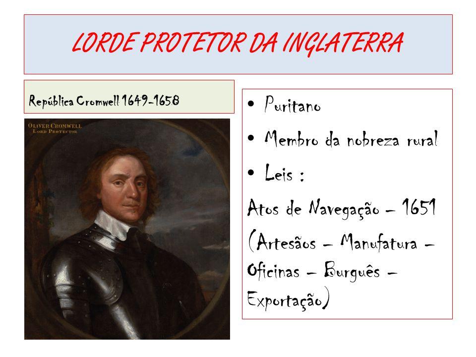 LORDE PROTETOR DA INGLATERRA