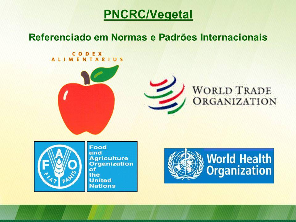 PNCRC/Vegetal Referenciado em Normas e Padrões Internacionais