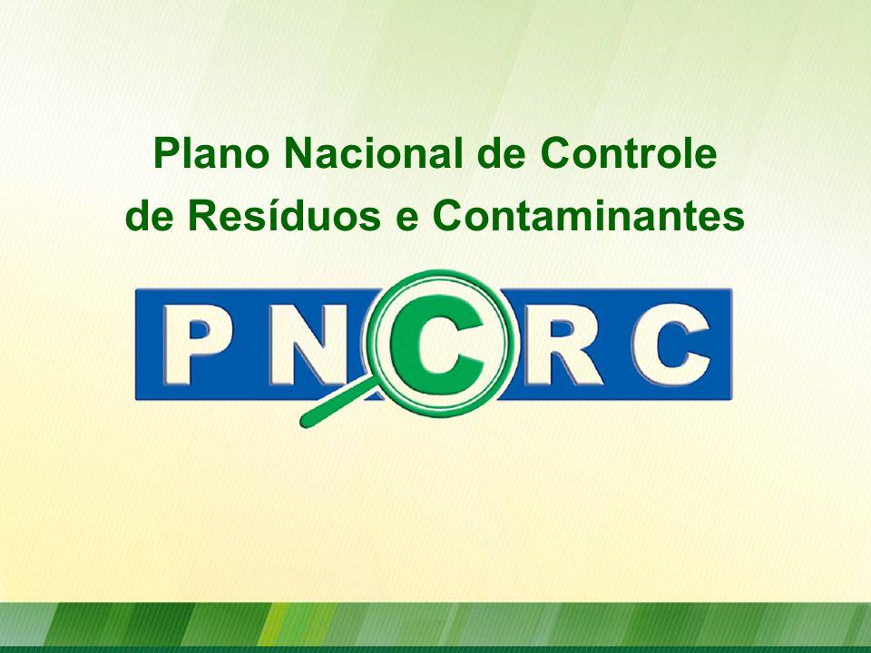 Plano Nacional de Controle de Resíduos e Contaminantes