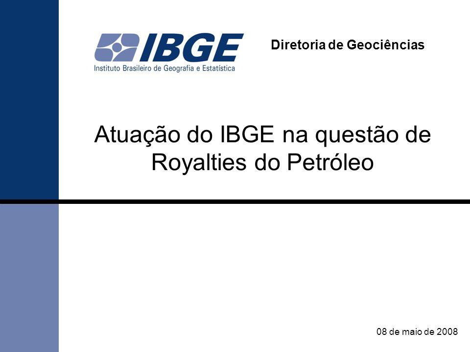 Atuação do IBGE na questão de