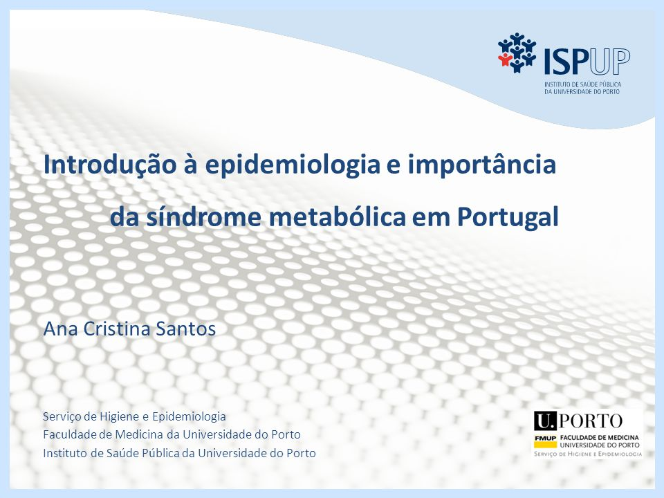 Introdução à epidemiologia e importância