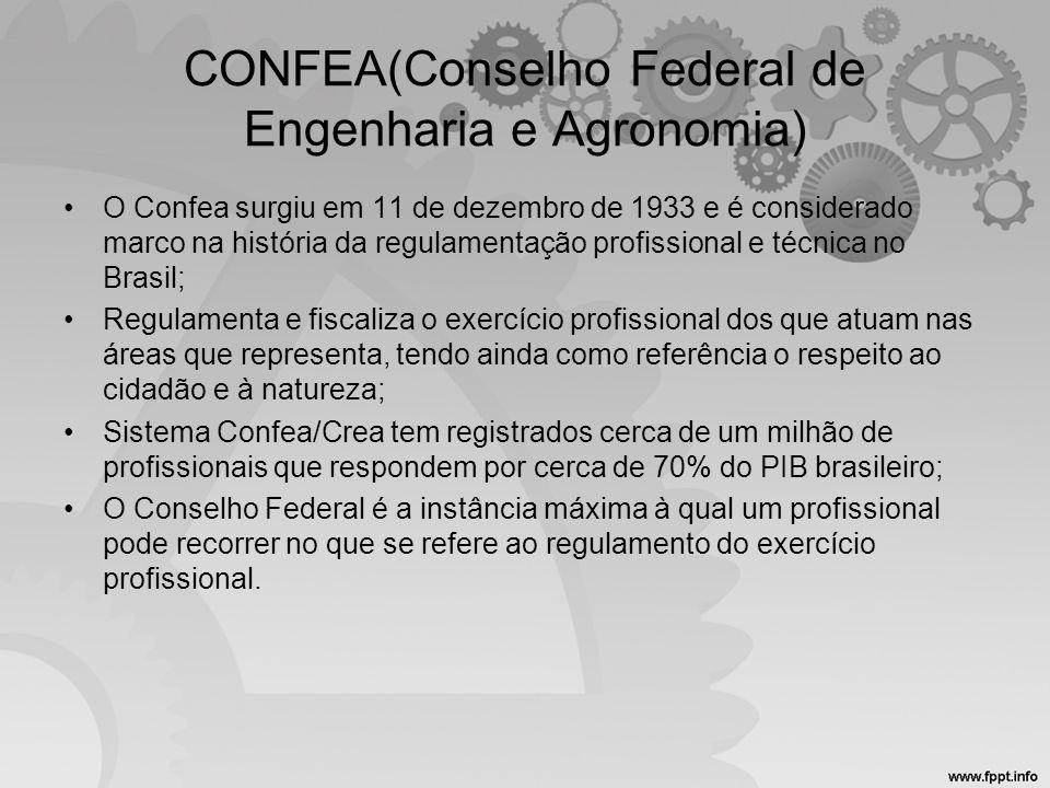 CONFEA(Conselho Federal de Engenharia e Agronomia)