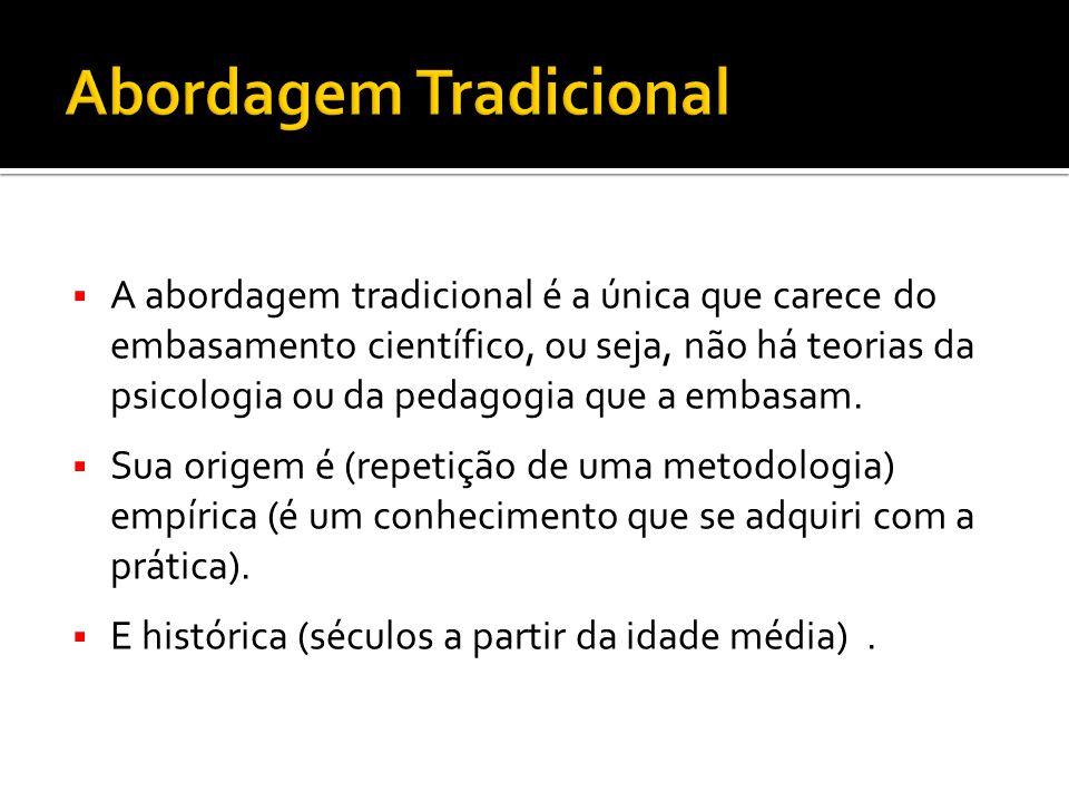 Abordagem Tradicional
