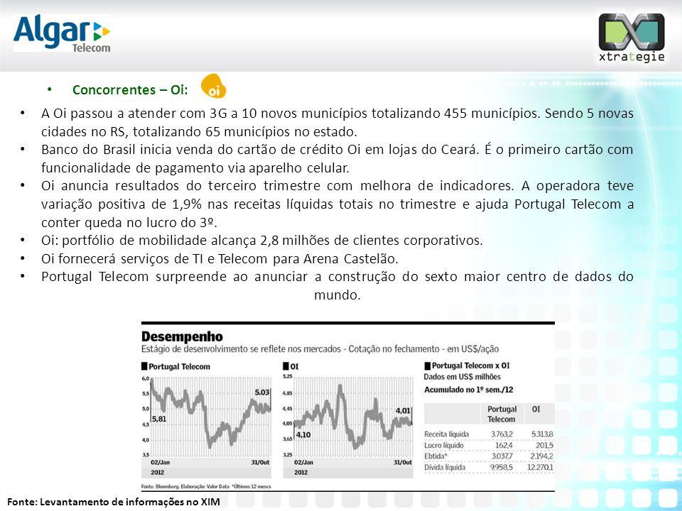 Oi fornecerá serviços de TI e Telecom para Arena Castelão.