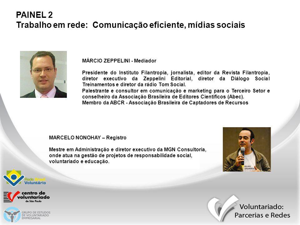 Trabalho em rede: Comunicação eficiente, mídias sociais