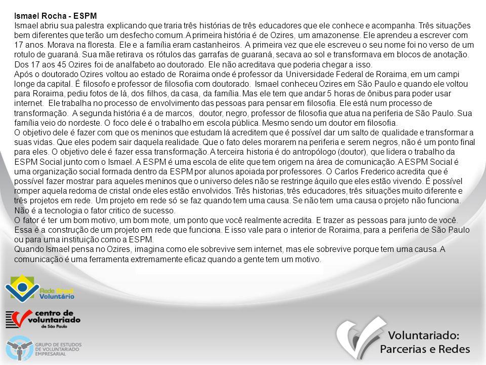 Ismael Rocha - ESPM
