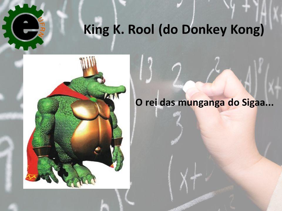 O rei das munganga do Sigaa...