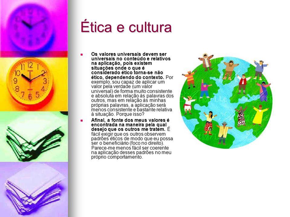 Ética e cultura
