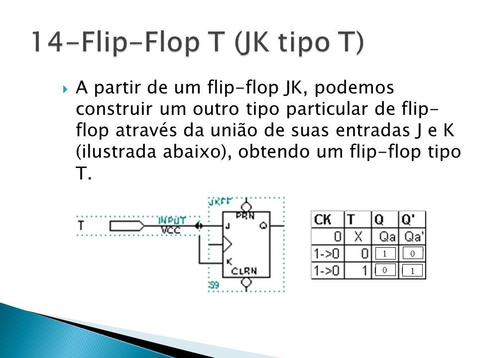 14-Flip-Flop T (JK tipo T)