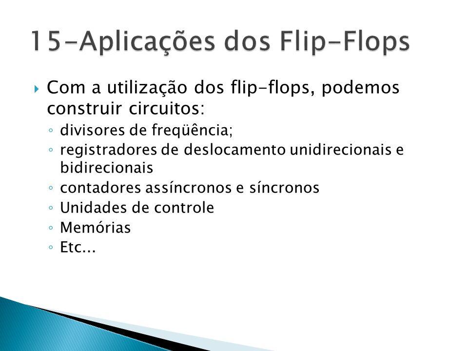 15-Aplicações dos Flip-Flops