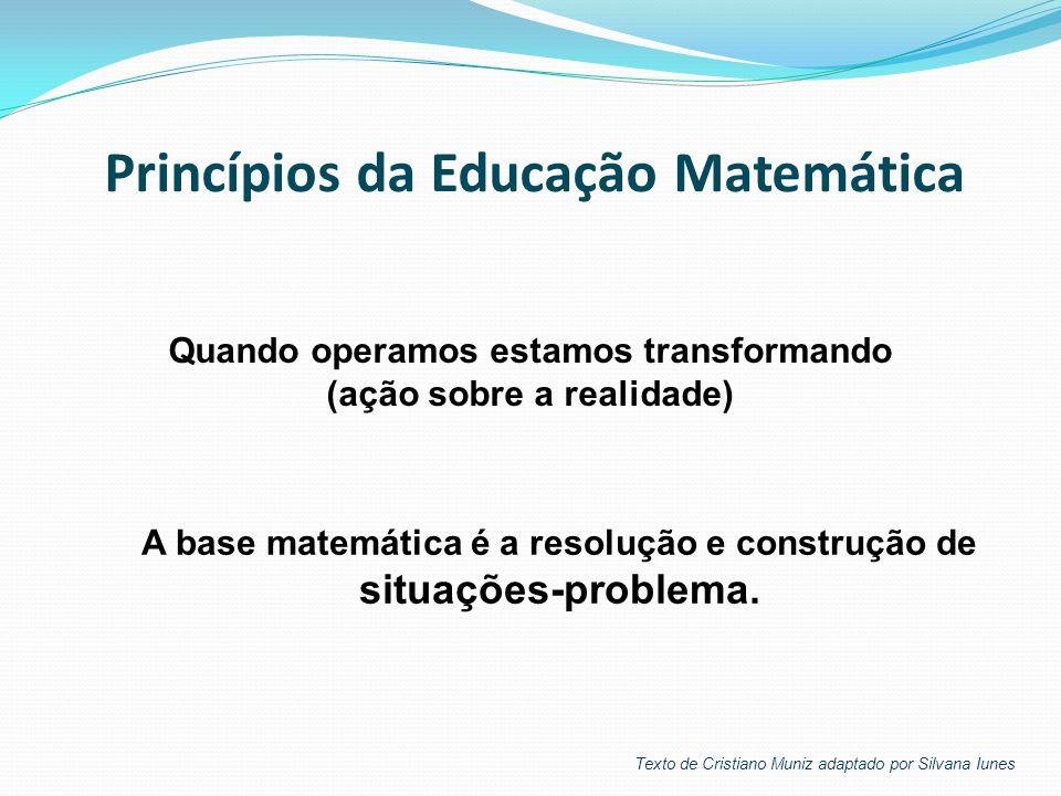 Princípios da Educação Matemática