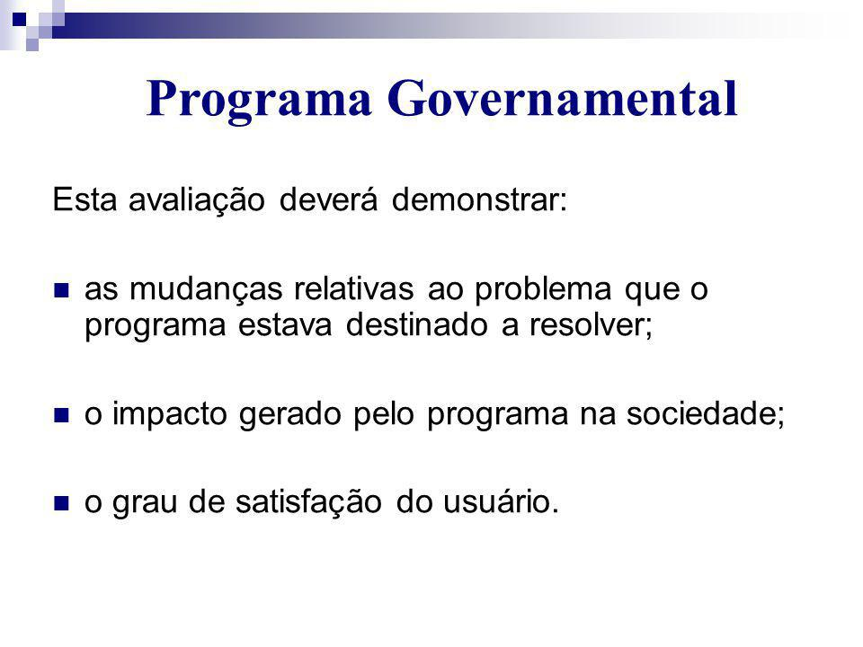 Programa Governamental
