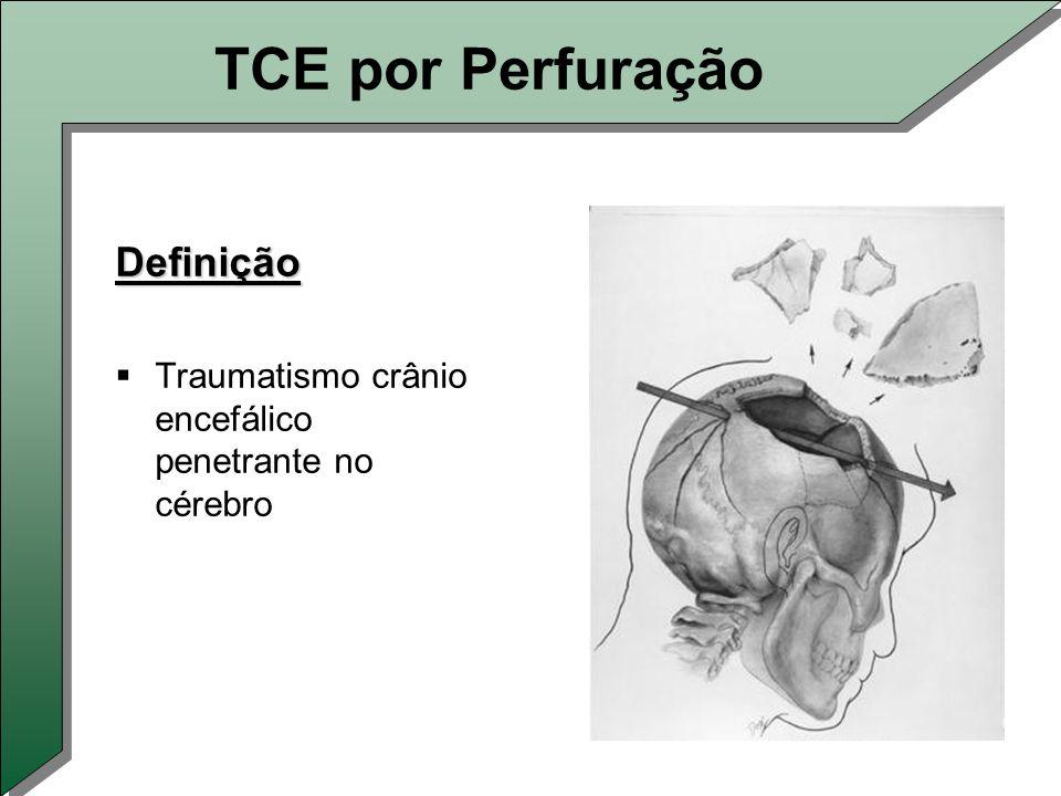 TCE por Perfuração Definição