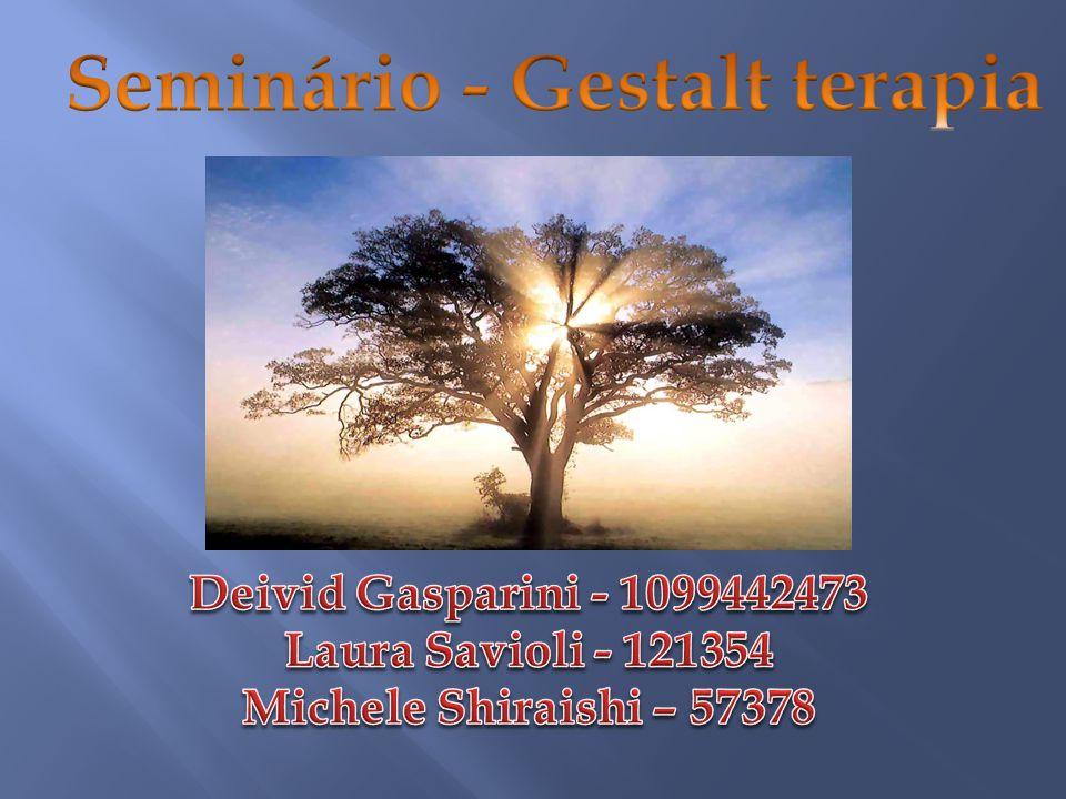 Seminário - Gestalt terapia