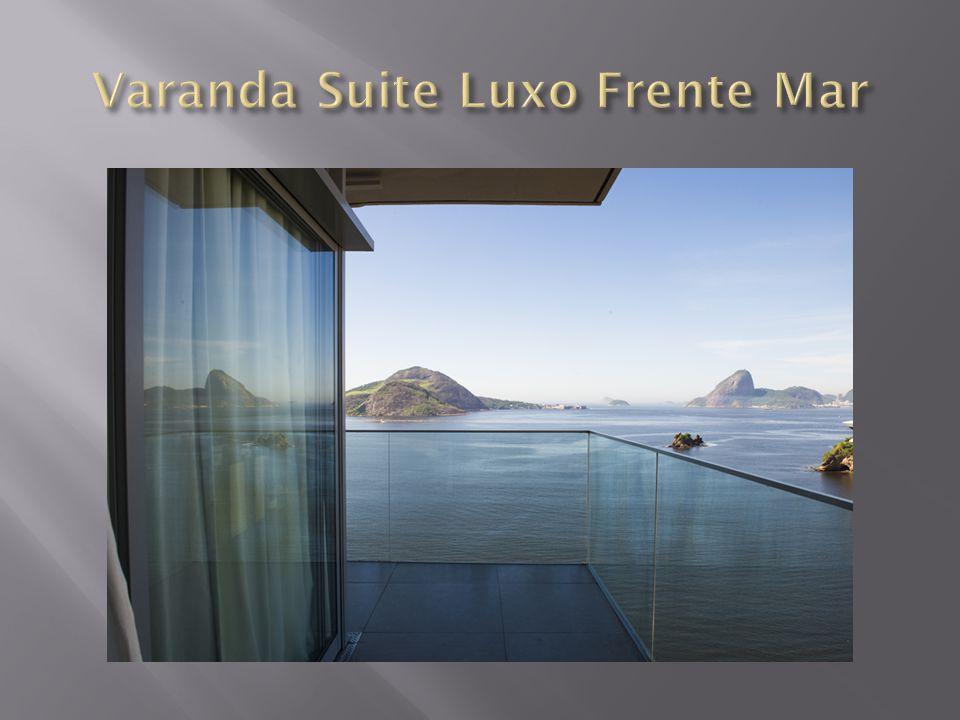 Varanda Suite Luxo Frente Mar