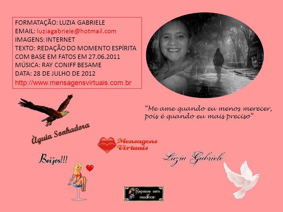 FORMATAÇÃO: LUZIA GABRIELE