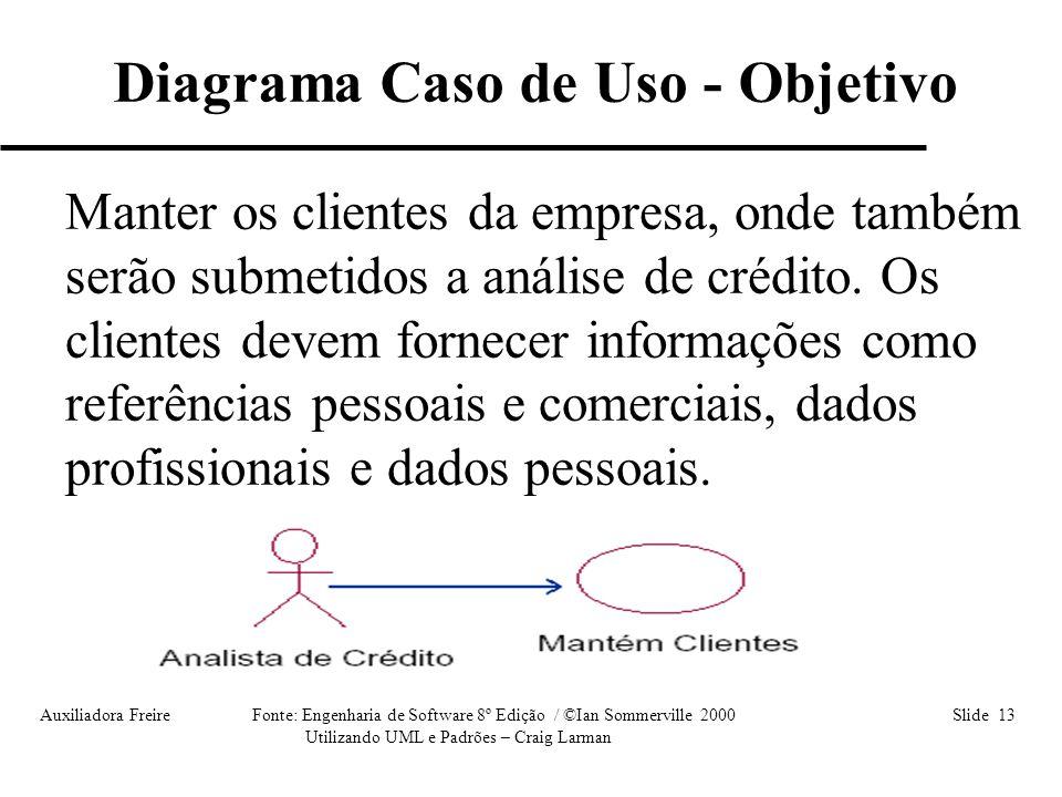 Diagrama Caso de Uso - Objetivo