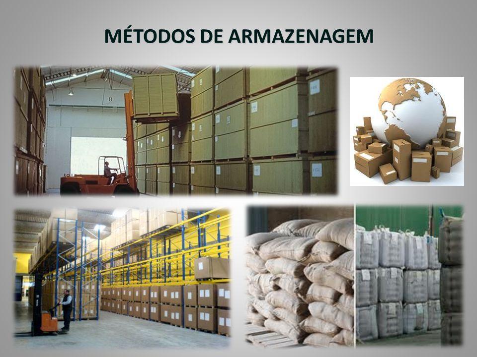 MÉTODOS DE ARMAZENAGEM