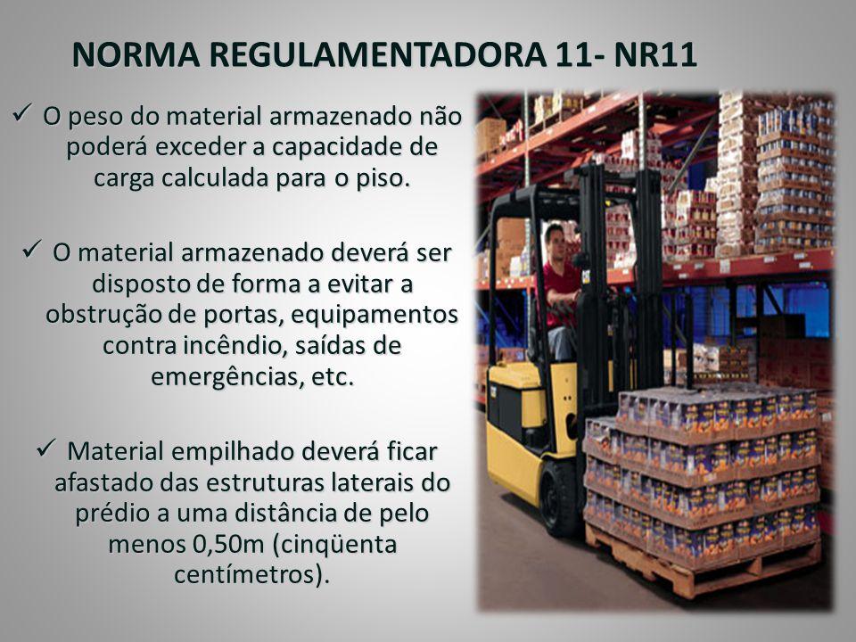 NORMA REGULAMENTADORA 11- NR11
