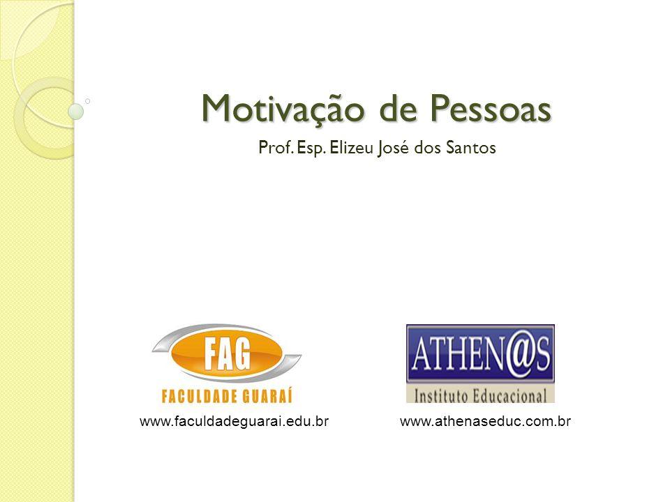 Prof. Esp. Elizeu José dos Santos