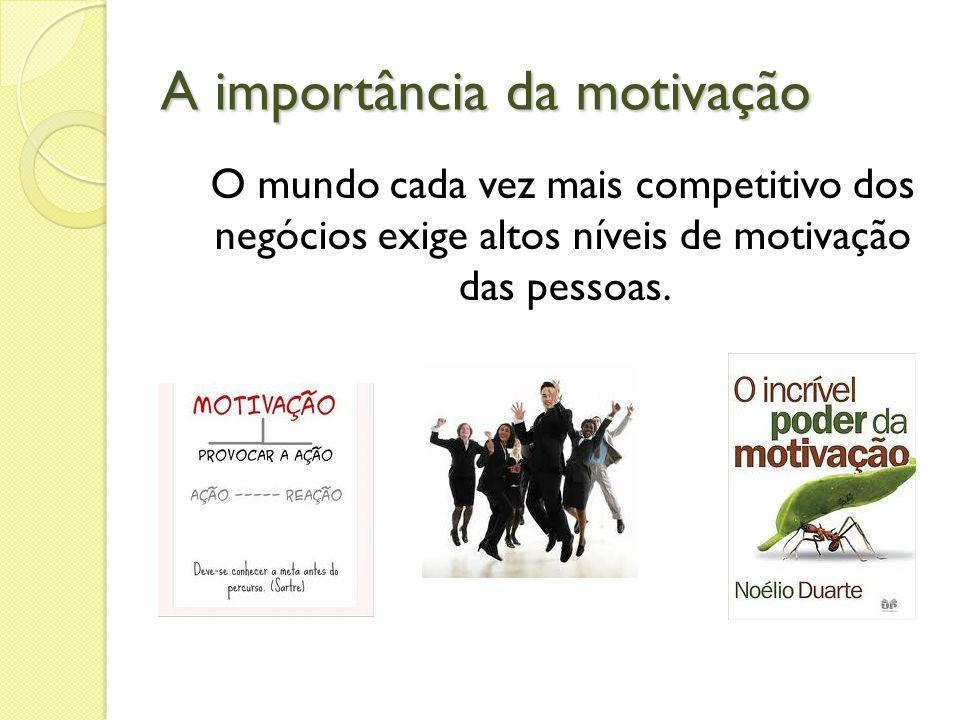 A importância da motivação