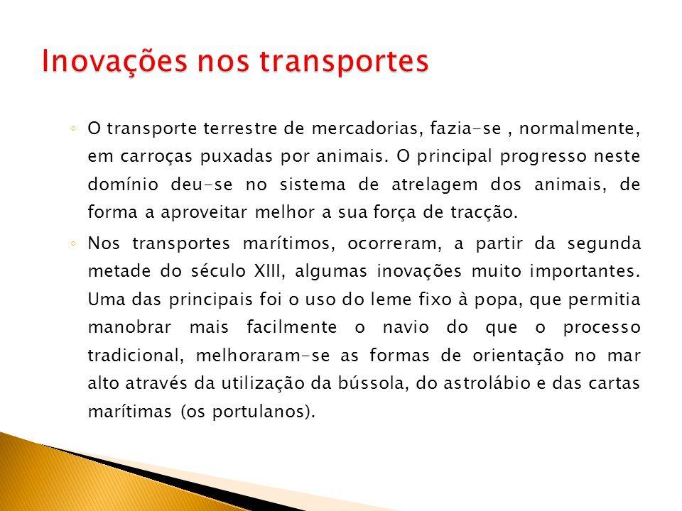 Inovações nos transportes