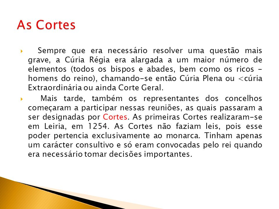 As Cortes