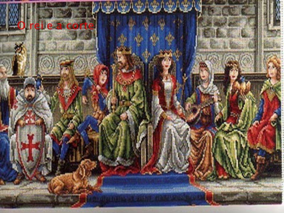 O rei e a corte