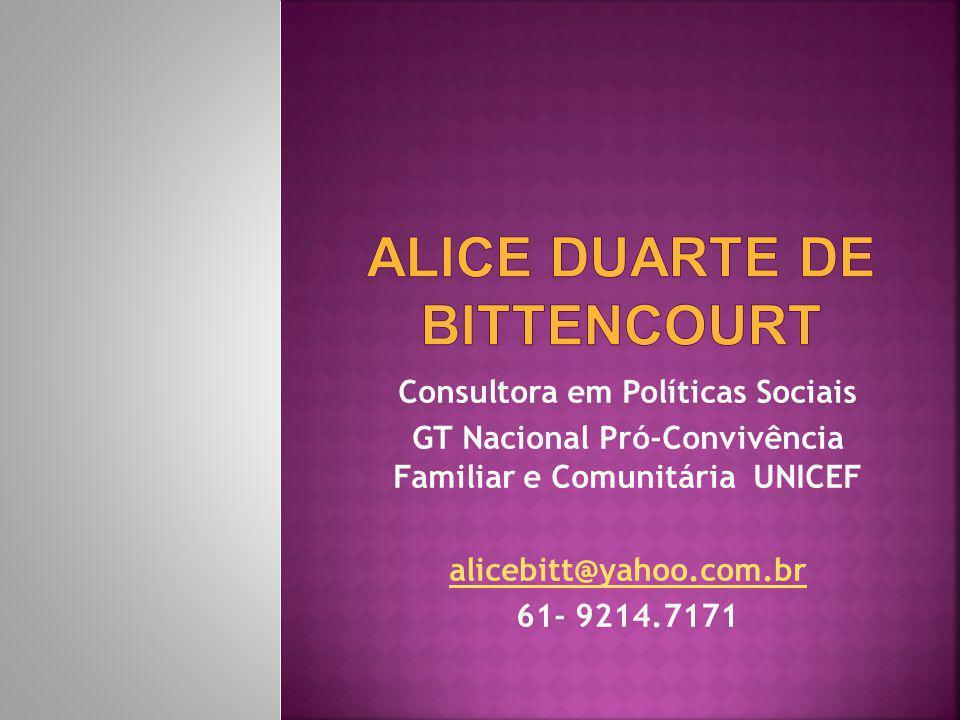 ALICE DUARTE DE BITTENCOURT