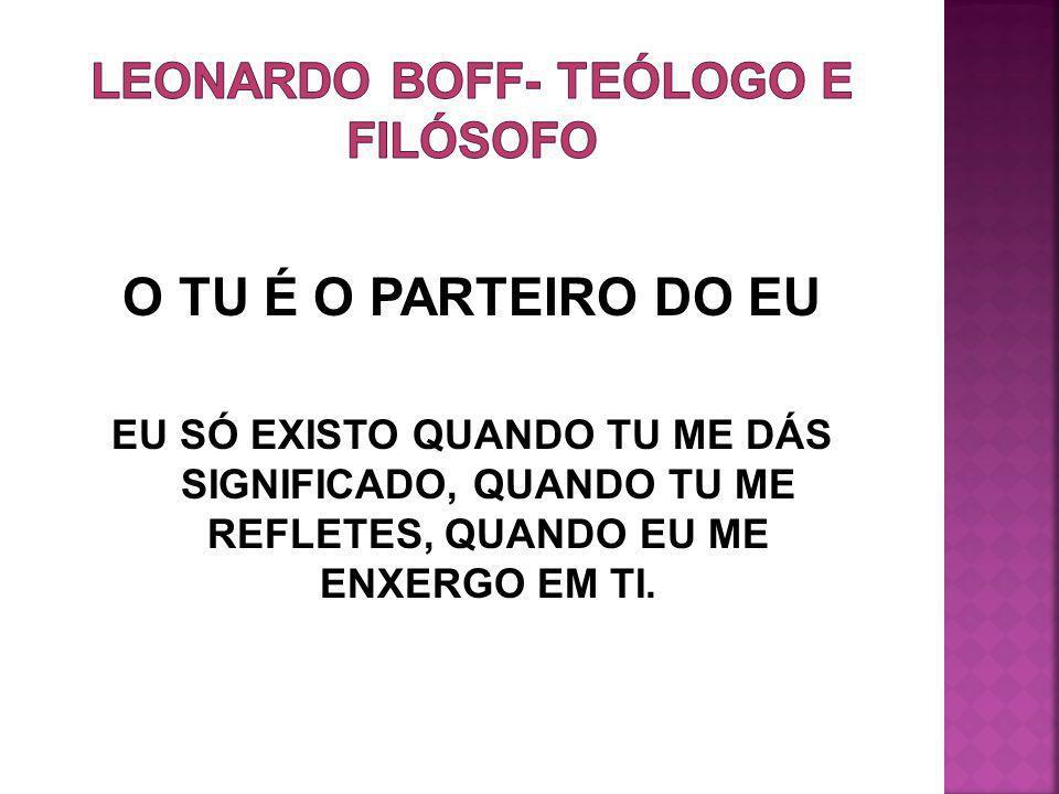Leonardo boff- teólogo e filósofo