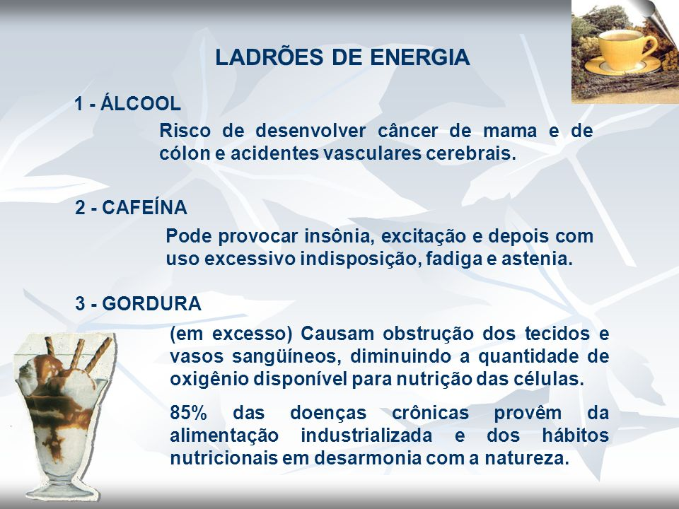 LADRÕES DE ENERGIA 1 - ÁLCOOL