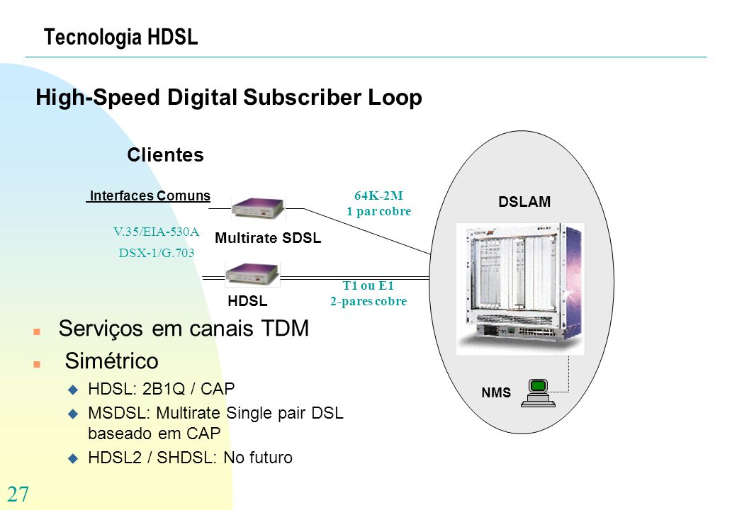 High-Speed Digital Subscriber Loop