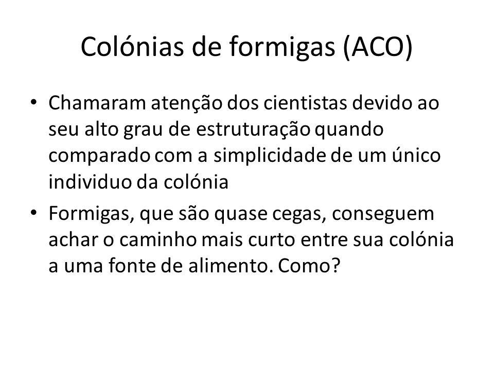 Colónias de formigas (ACO)