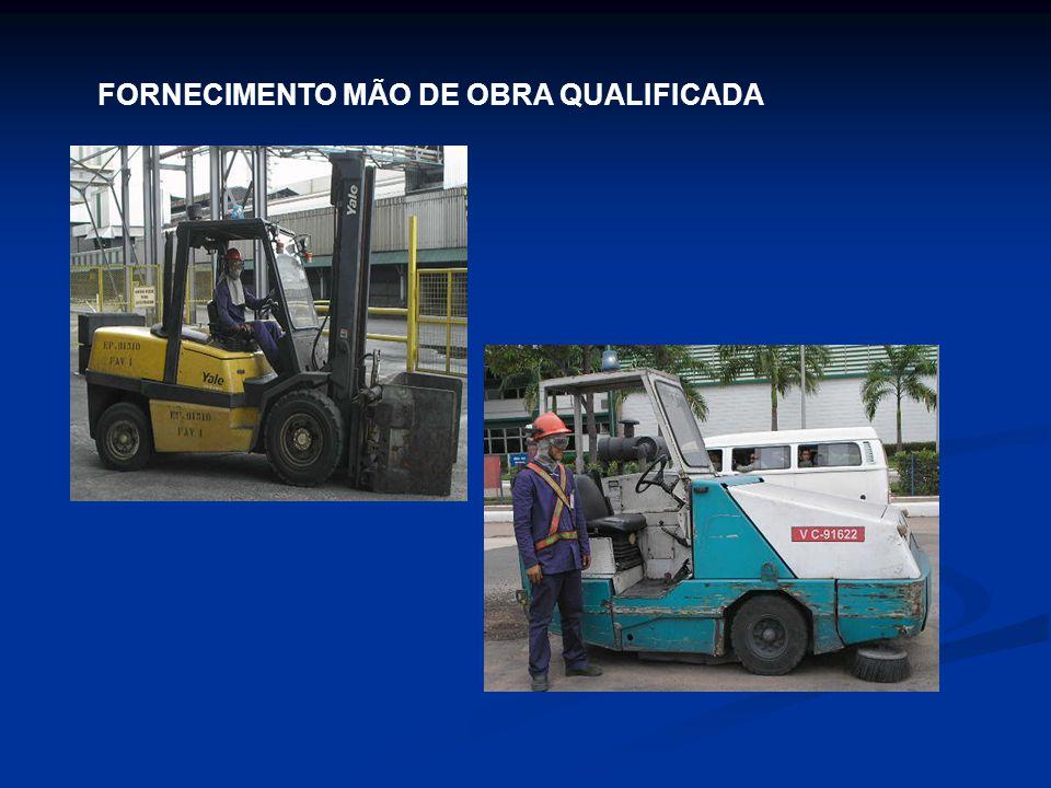 FORNECIMENTO MÃO DE OBRA QUALIFICADA