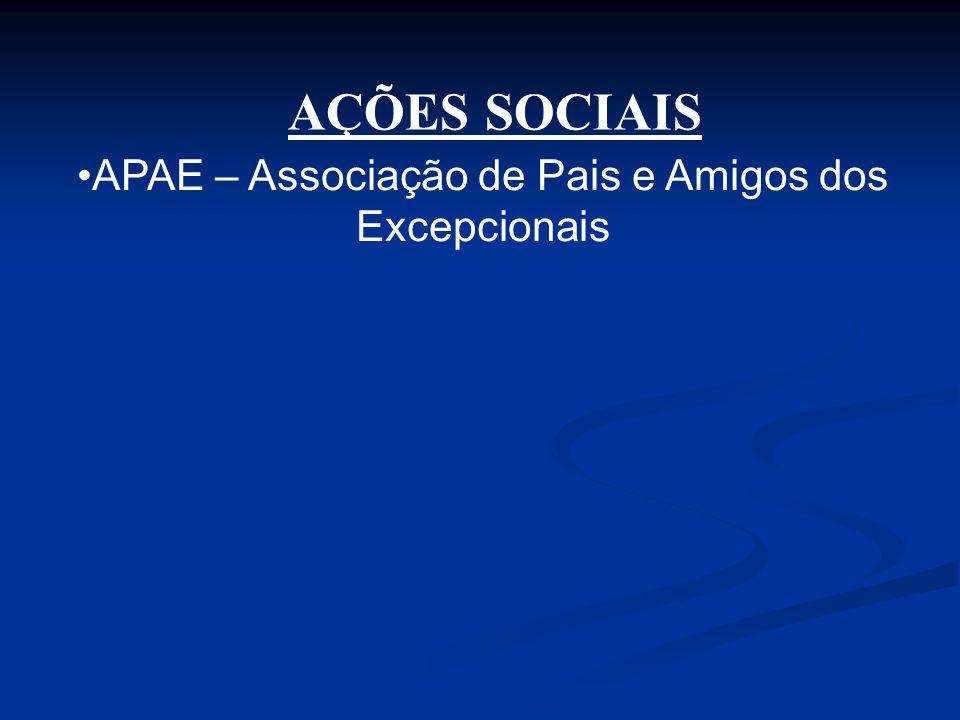 APAE – Associação de Pais e Amigos dos Excepcionais