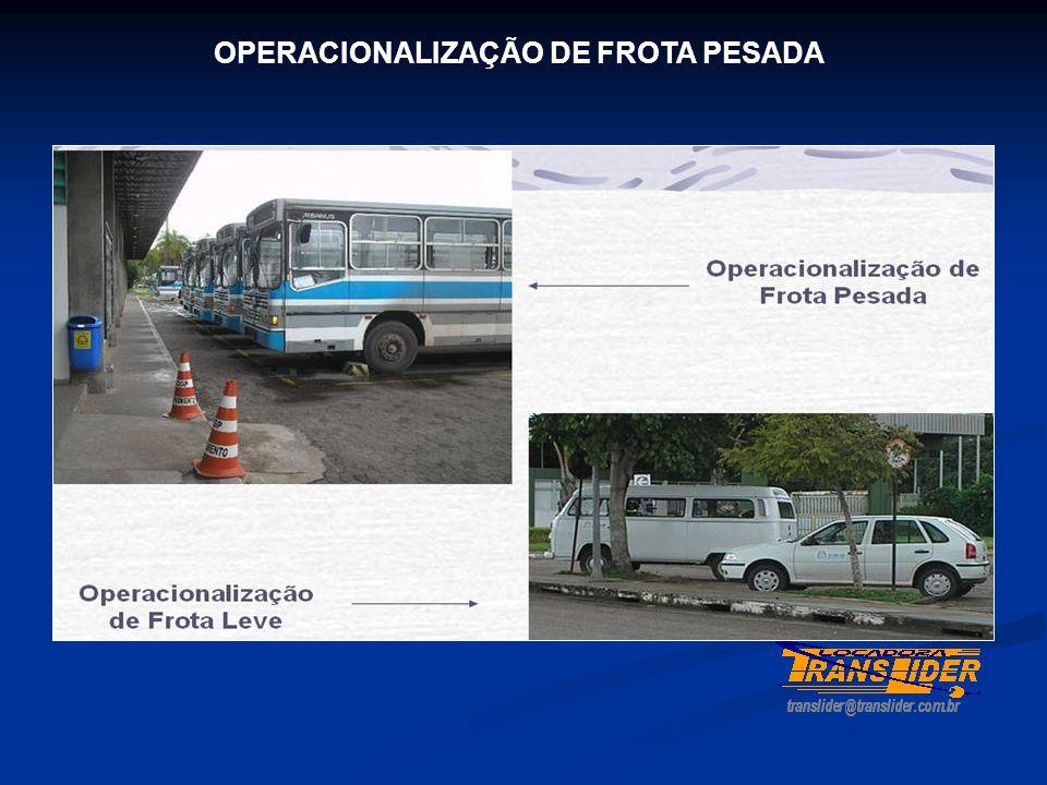 OPERACIONALIZAÇÃO DE FROTA PESADA