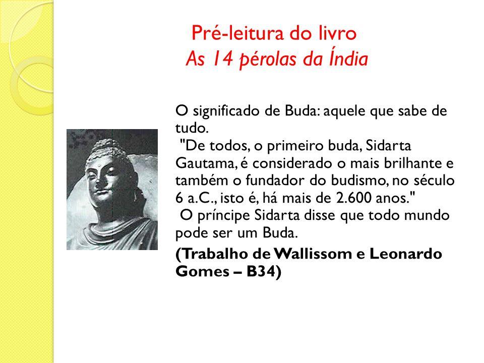 Pré-leitura do livro As 14 pérolas da Índia